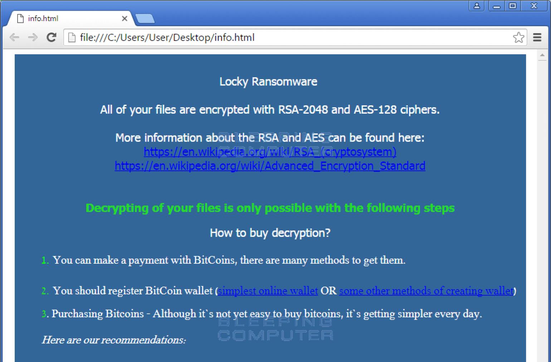 locky ransomware